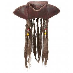 Καπέλο Πειρατικό με Μαλλιά