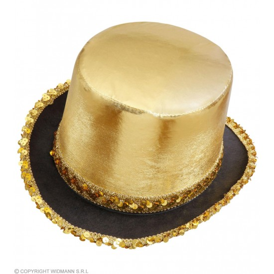 Καπέλο Ημίψηλο Χρυσό