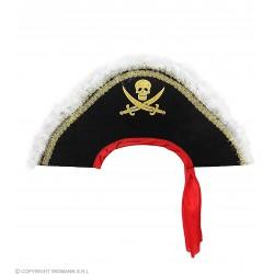 Καπέλο Πειρατή Μαυρογένη