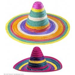 Καπέλο Σομπρέρο Πολύχρωμο Φ50 cm