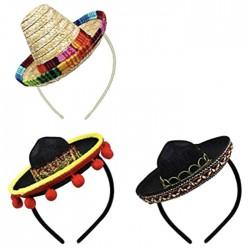 Καπέλο Σομπρέρο με Στέκα Mini