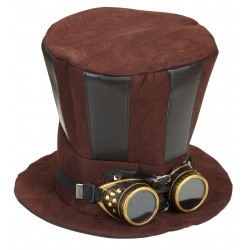 Καπέλο Steampunk με Γυαλιά