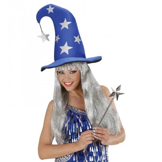 Καπέλο Μαγισσας-Μάγου με Αστέρια
