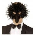 Μάσκα Μαύρο Πουλί με Φτερά