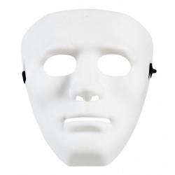 Μάσκα Πλαστική Λευκή