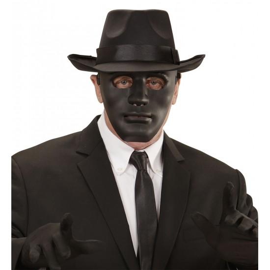 Μάσκα πλαστική Μαύρη
