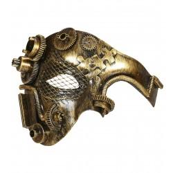 Μάσκα Steampunk μισό πρόσωπο