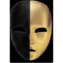 Μάσκα Προσώπου Βενετσιάνικη Χρυσή Μαύρη