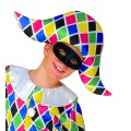 Μάσκα Ματιών μαύρη υφασμάτινη παιδική