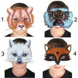 Μάσκα Ματιών Ζωάκια 3σχ. 1τεμ.