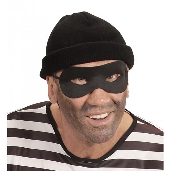 Μάσκα Ματιών μαύρη υφασμάτινη