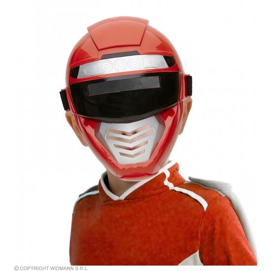 Μάσκα Κόκκινη Power Robot Πλαστική