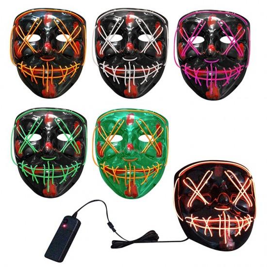 Μάσκα Πλαστική με Φως