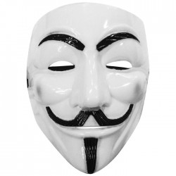 Μάσκα Λευκή Anonymous V for Vendetta