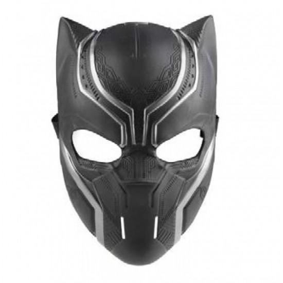 Μάσκα Πλαστική Μαύρος Πανθηρας