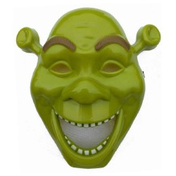 Μάσκα Πλαστική Πράσινο Τερατάκι