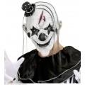 Μάσκα Killer clown με Μαλλιά και μίνι Καπέλο latex