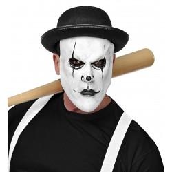 Μάσκα Αρλεκίνου latex, με Καπέλο