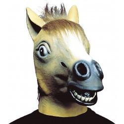 Μάσκα Άλογο Καφέ latex