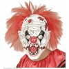 Μάσκα Killer clown με Μαλλιά latex