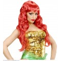 Περούκα Mermaid Κόκκινη σπαστή