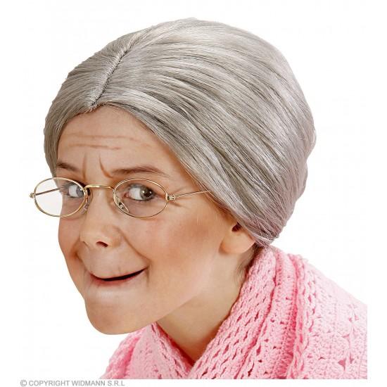 Περούκα Γιαγιάς με Κότσο
