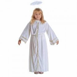 Στολή αγγελάκι παιδική με φωτοστέφανο
