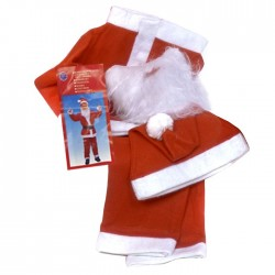 Στολή Άγιος Βασίλης εφηβική Υ:150cm