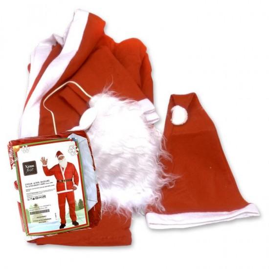 Στολή Άγιος Βασίλης ενηλίκων Υ:180cm