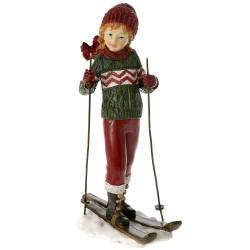 Παιδί με Σκι 13x9x21cm