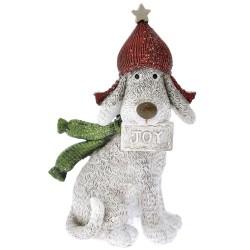 Σκύλος με Σκούφο Πολυρεζίν 7x15cm