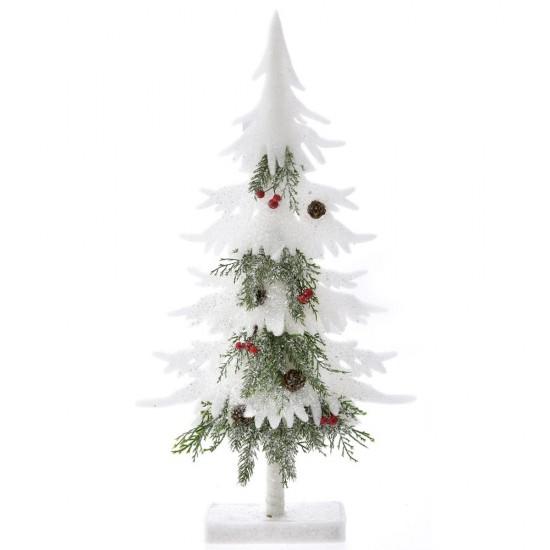 Δεντράκι Χιονισμένο αφρολέξ 90cm