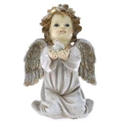 Άγγελος Περιστέρι με φως 10x10x15cm