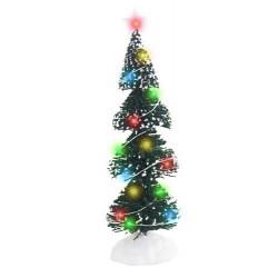 Χριστουγεννιάτικο Δεντράκι με 16 led 25,5cm
