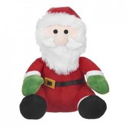 Καλαντούλι λούτρινο Άγιος Βασίλης 20cm