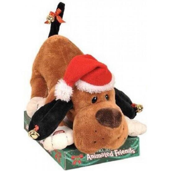 Σκυλάκι Χριστουγεννιάτικο με Ήχο και Κίνηση 30cm