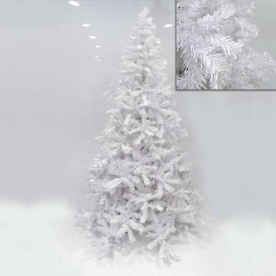 Δέντρο λευκό μεταλλική βάση 1,80m