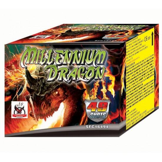 Πυροτέχνημα Millennium Dragon 49 βολές