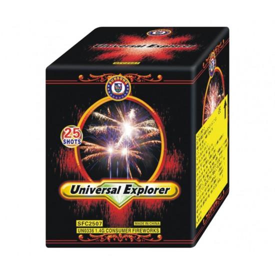 Πυροτέχνημα Universal Explorer 25 βολές