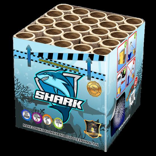 Πυροτεχνήματα Shark 25 βολές