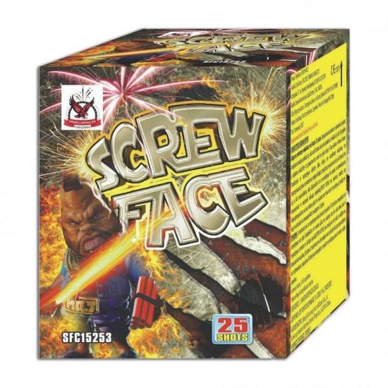 Πυροτέχνημα Screw Face 25 βολές