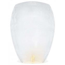 Χάρτινο μεγάλο Ιπτάμενο Φαναράκι άσπρο