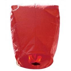 Χάρτινο Ιπτάμενο φαναράκι κόκκινο