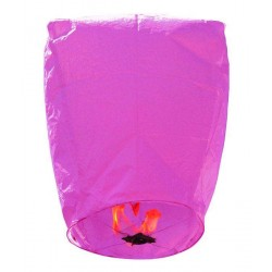 Χάρτινο Ιπτάμενο φαναράκι ροζ