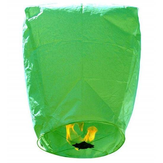 Χάρτινο Ιπτάμενο φαναράκι Πράσινο
